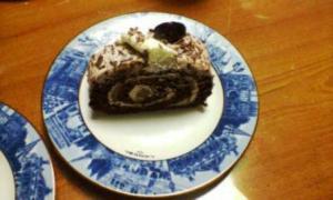 ルタオ生チョコロールケーキ3