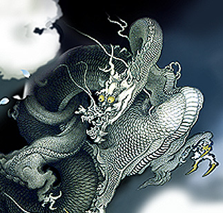 龍の舞アップ