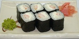 s-Ebi Cheese Maki