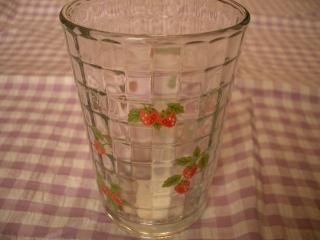 野苺キューブグラス