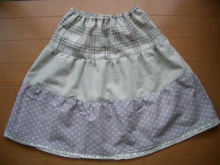 ティアードスカート(120cm)