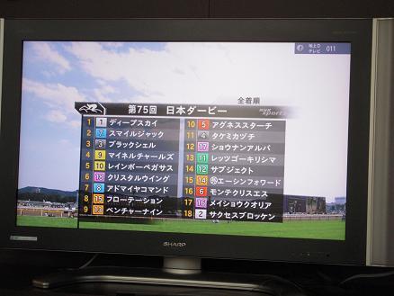 日本ダービー1