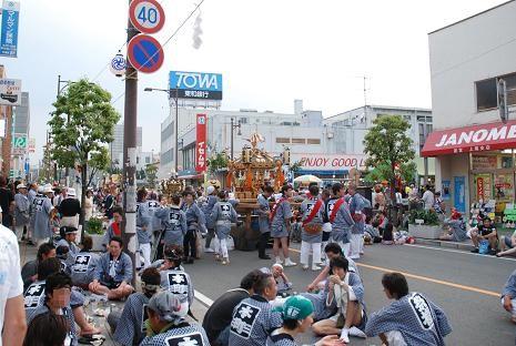 上尾夏祭り3