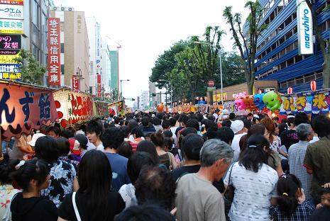 上尾夏祭り6
