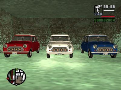Italian Job in GTA SA