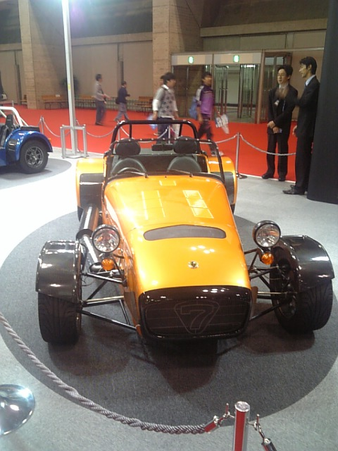 Caterham Super Seven 其の三