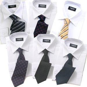 1週間分まとめ買い、洗濯いらず!ワイシャツ ホワイトセット