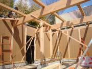 美容室「デインプルヘアー」新築工事 上棟2
