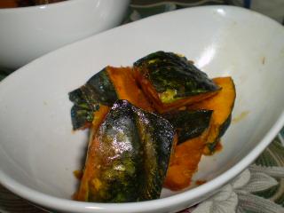 かぼちゃの煮物0216