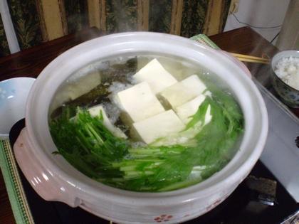 湯豆腐1124