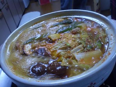 キムチ鍋0207