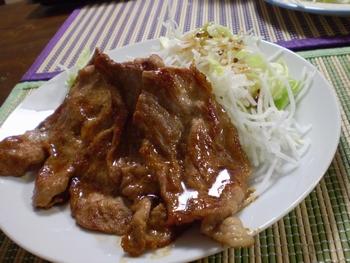 生姜焼き0210