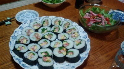 ママの巻き寿司