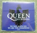 QUEEN+PAUL RODGERS/WE WILL ROCk YOU