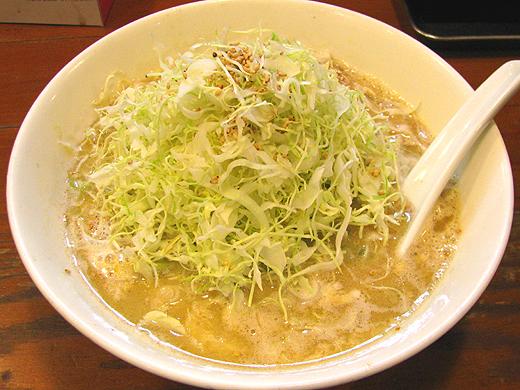 バイシャンタン 玉子きゃべつ麺