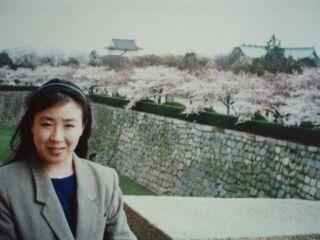 2010直美・大阪城満開の桜