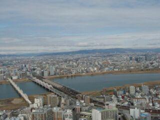 大阪周遊空中庭園遠景