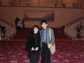 20080114宝塚大劇場ふたり