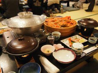 20120313カニツアー料理