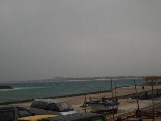 20120324荒れ模様の海