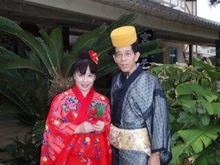 2010直美・琉球衣装二人
