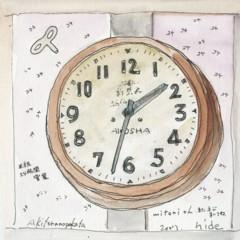 秋寅の古時計