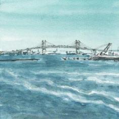 横浜ベイブリッジかな