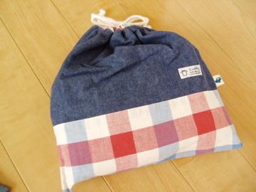 お着替え袋(昨年度作成)