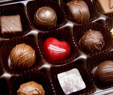 チョコレートと鼻血