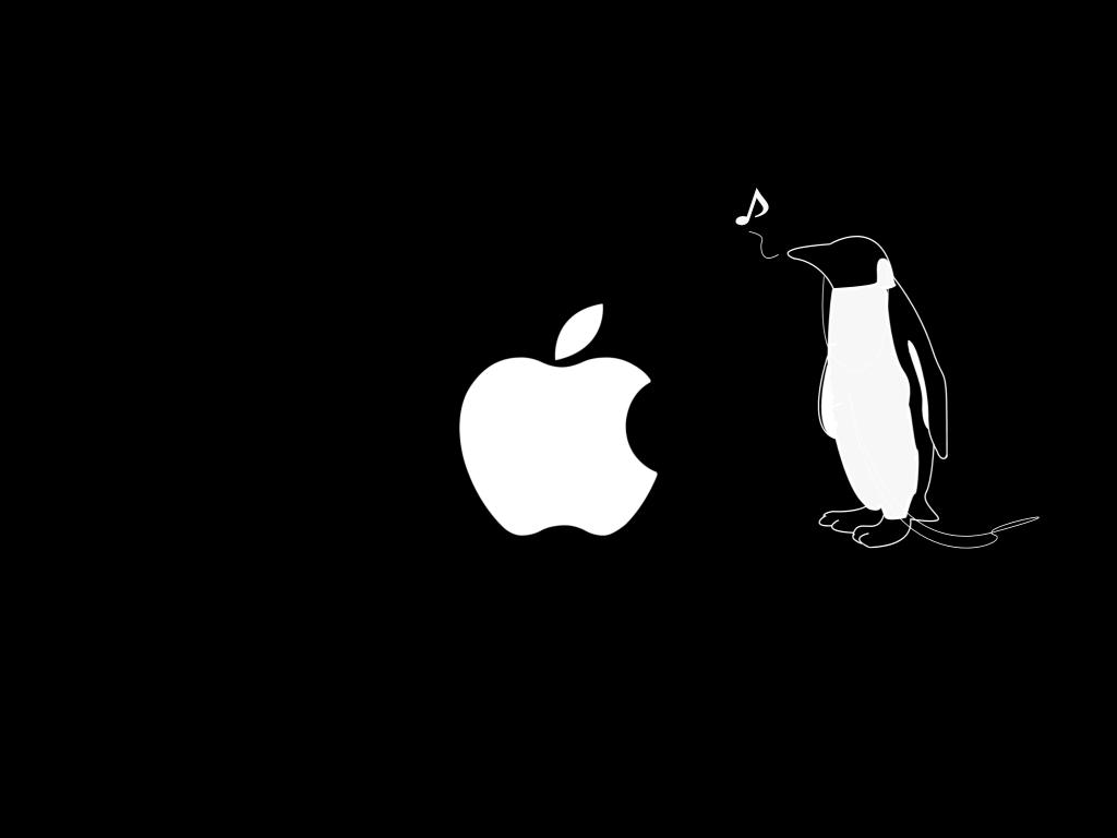 アップル×ペンギン