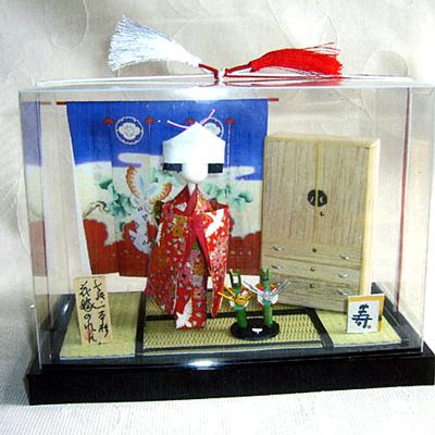 花嫁のれん人形(箪笥付き)