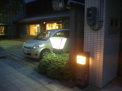 一本杉通りの街路灯