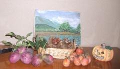 2008 ムベ 栗 柿