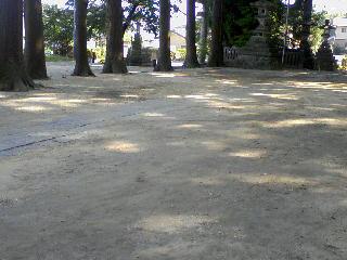 境内砂引き2