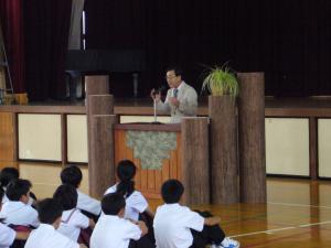 中学講演会 2