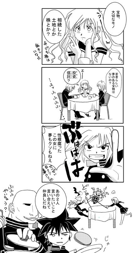 4コマ漫画 ショーコさん