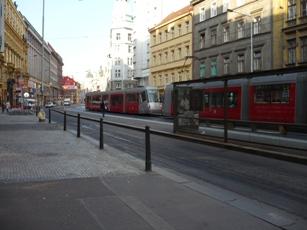 9 プラハの路面電車