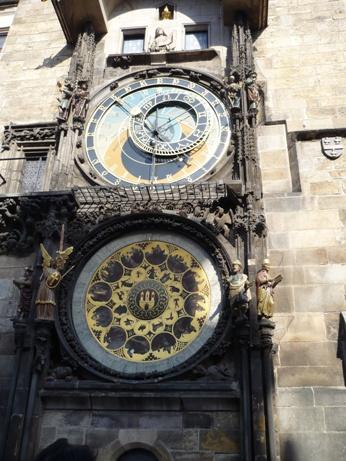 21 天文時計の装飾