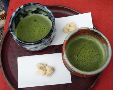 円覚寺でお茶