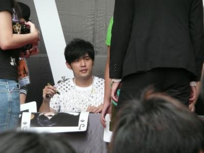 簽唱會@高雄jay5
