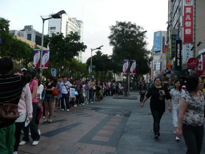 簽唱會@台北中華路の列