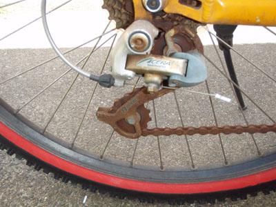 錆自転車2