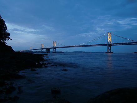夕暮れの瀬戸大橋2