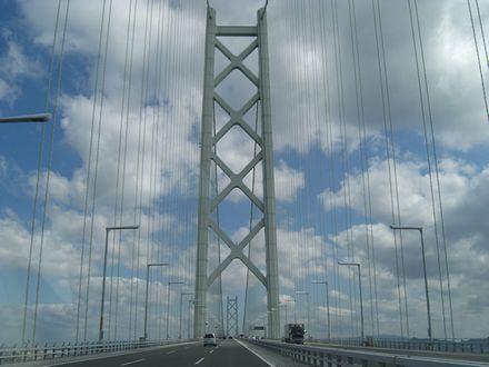 SWの明石海峡大橋