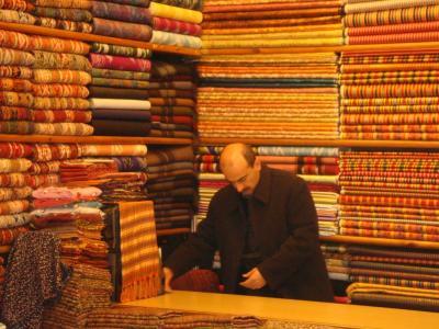 バザールの絨毯屋@イスタンブール