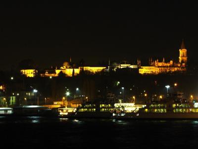 夜のトプカプ宮殿