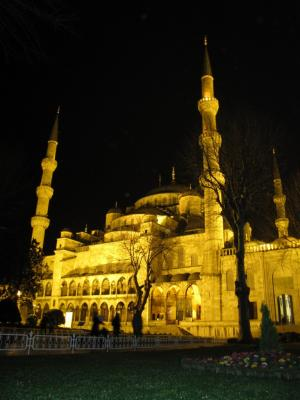 夜モスク@イスタンブール