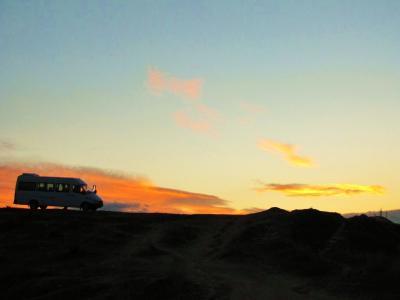 ギョレメの丘の夕景②
