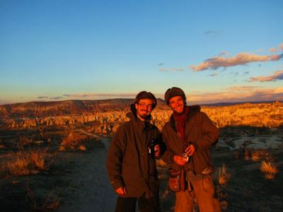 フランスの旅人@ギョレメの丘