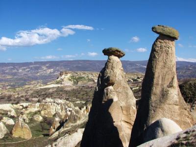 カッパドキア奇岩風景②